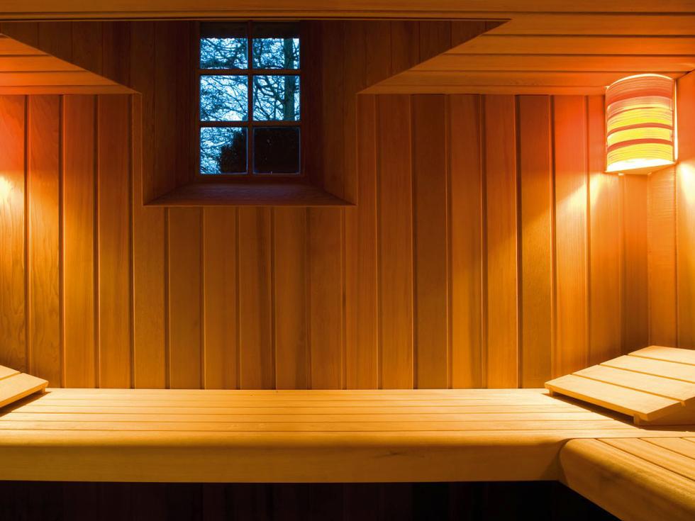 Sauna In Huis : Saunahouse